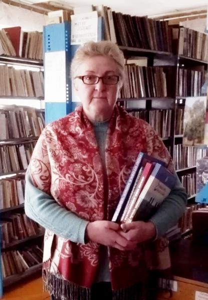 Арсланова С.И. ведущий библиотекарь Новокильбахтинской библиотеки