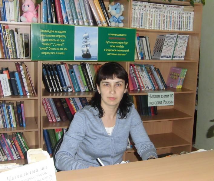 Мазитова С.М. библиотекарь Калтасинскойдетской модельной библиотеки
