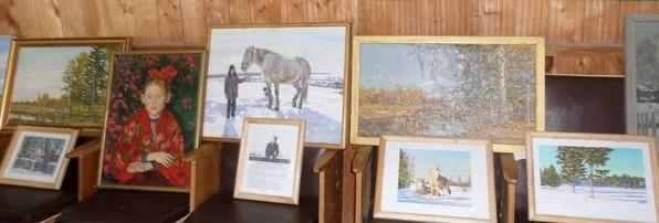Выставка работ А.Шакирова 1